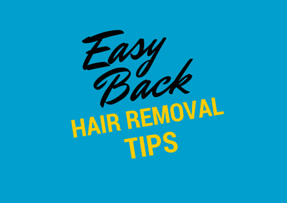 easy back hair removal