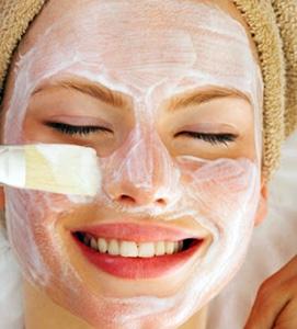 bleaching facial hair