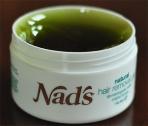 hair removal gel designed for sensitive areas