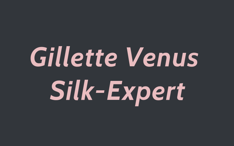 Braun Gillette Venus Silk-Expert IPL review