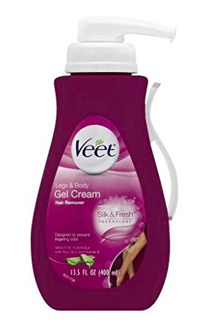 Veet Hair Removal Gel Cream Sensitive Formula