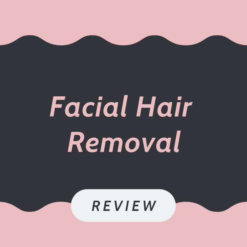 Facial hair removal tips
