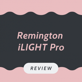 Remington iLIGHT Pro IPL review