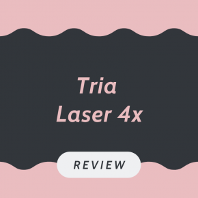 Tria Laser 4x hair removal review